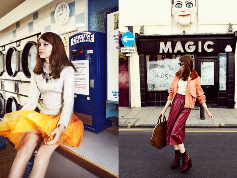 brighton2 Kate Pernell Travels to Brighton Beach for Elle Poland