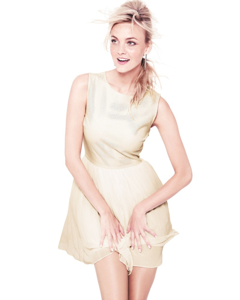 caroline nm12 Caroline Trentini Models Neiman Marcus Resort 2013 Collection