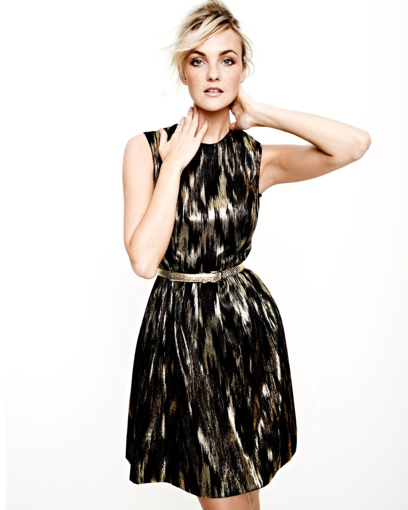 caroline nm4 Caroline Trentini Models Neiman Marcus Resort 2013 Collection
