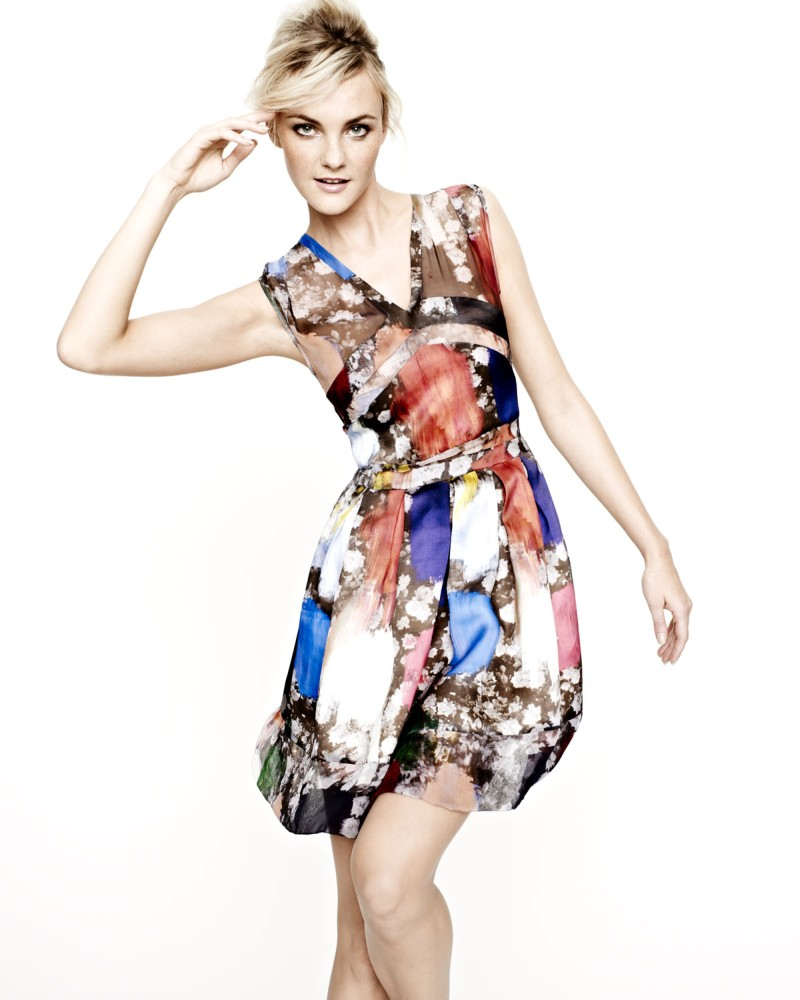caroline nm5 Caroline Trentini Models Neiman Marcus Resort 2013 Collection