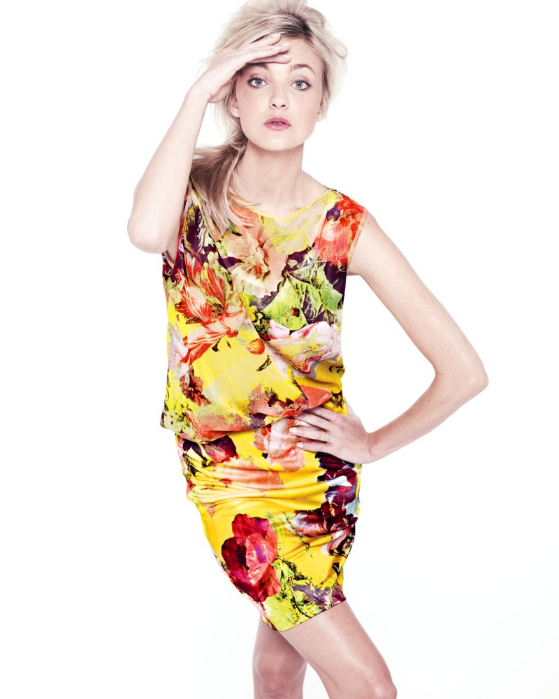 caroline nm7 Caroline Trentini Models Neiman Marcus Resort 2013 Collection