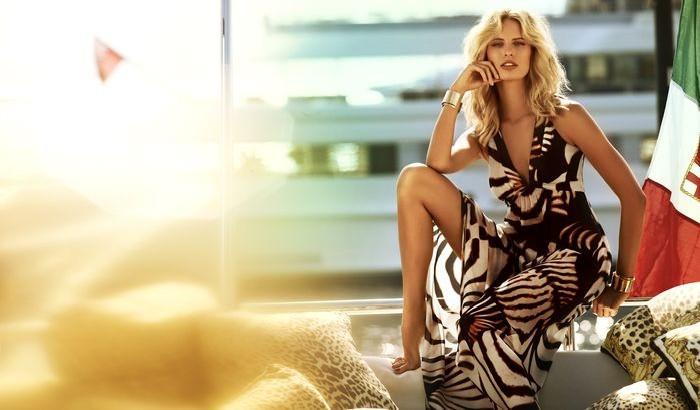 cavalli1 Karolina Kurkova Stars in the Roberto Cavalli x Target Australia Campaign