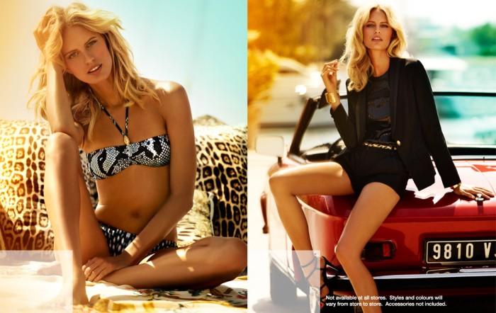 cavalli2 Karolina Kurkova Stars in the Roberto Cavalli x Target Australia Campaign
