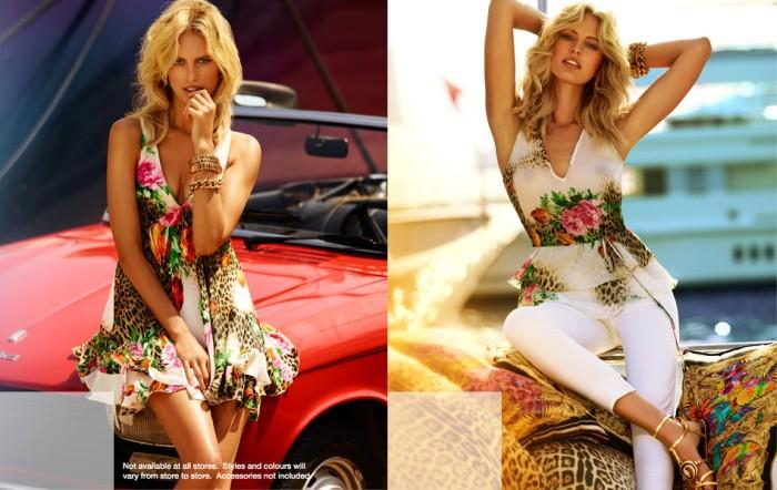 cavalli3 Karolina Kurkova Stars in the Roberto Cavalli x Target Australia Campaign