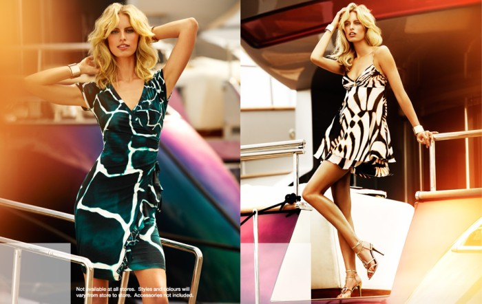 cavalli4 Karolina Kurkova Stars in the Roberto Cavalli x Target Australia Campaign