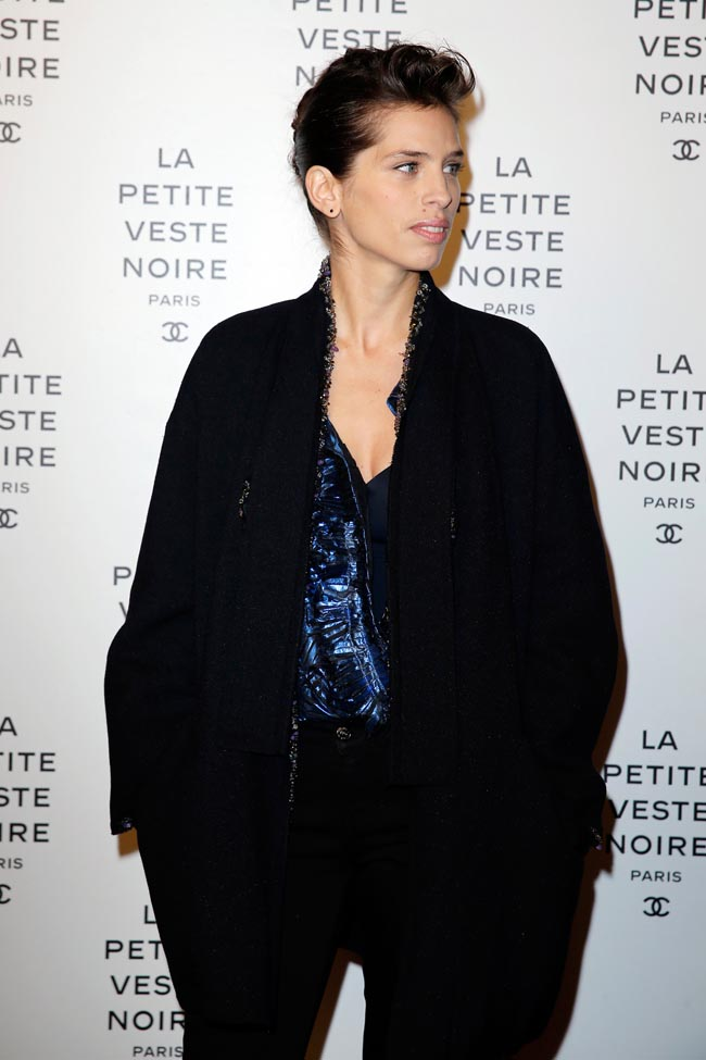 chanel lbj11 Anja Rubik, Laetitia Casta, Carine Roitfeld and Others at Chanels the Little Black Jacket Exhibition