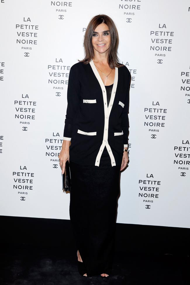 chanel lbj4 Anja Rubik, Laetitia Casta, Carine Roitfeld and Others at Chanels the Little Black Jacket Exhibition