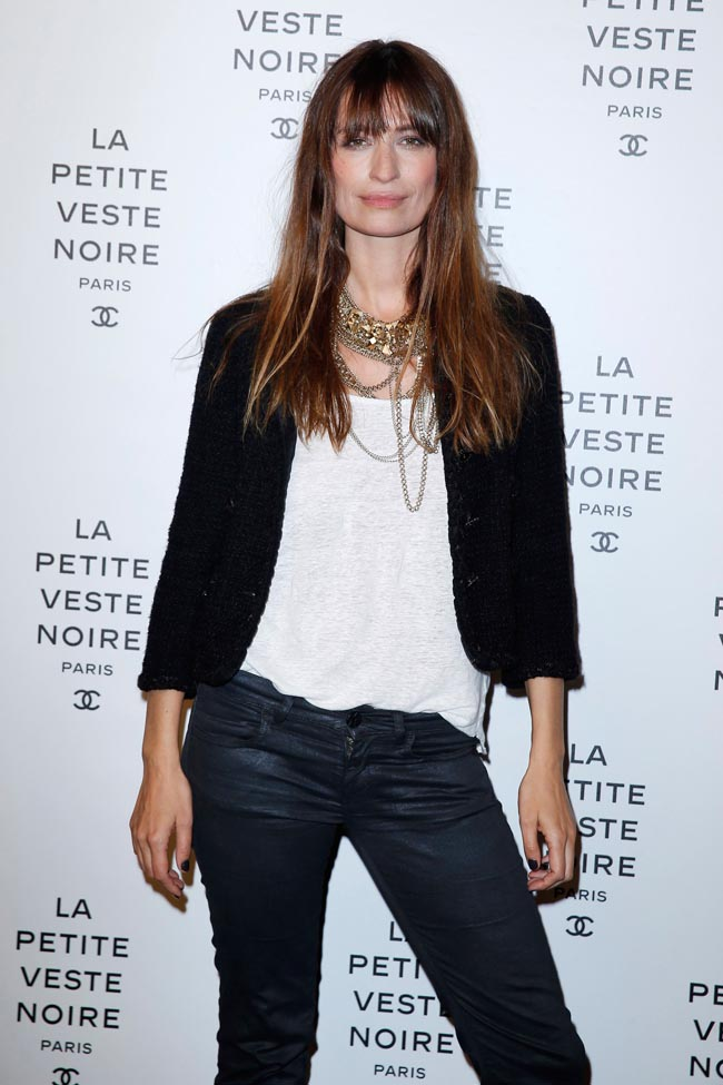 chanel lbj5 Anja Rubik, Laetitia Casta, Carine Roitfeld and Others at Chanels the Little Black Jacket Exhibition