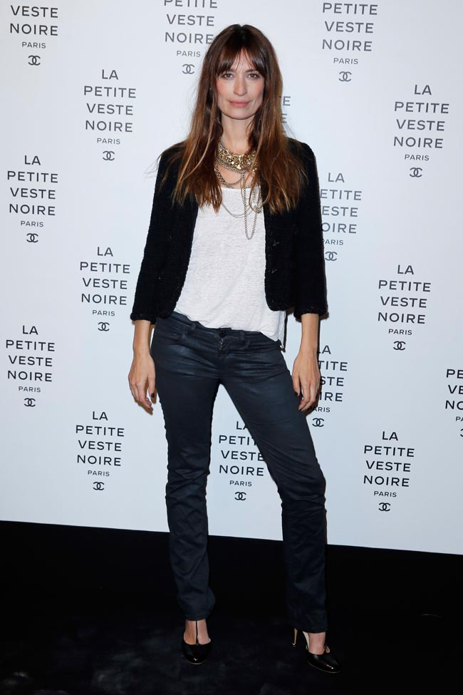 chanel lbj6 Anja Rubik, Laetitia Casta, Carine Roitfeld and Others at Chanels the Little Black Jacket Exhibition