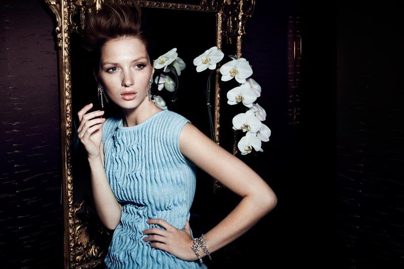 Martina Prekopova Shines in Chanel for Santiago Esteban's Marie Claire Mexico Shoot