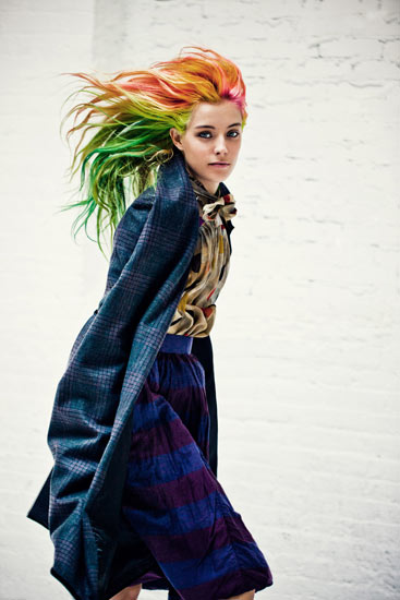 chloe misfits6 Chloe Norgaard is a Misfit for Metal Magazine #28