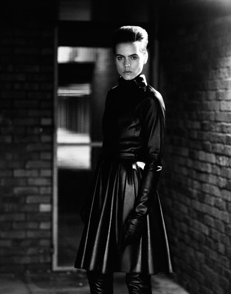 corinna11 Corinna Ingenleuf Dons Rebellious Style for Mark Keans Sleek Shoot