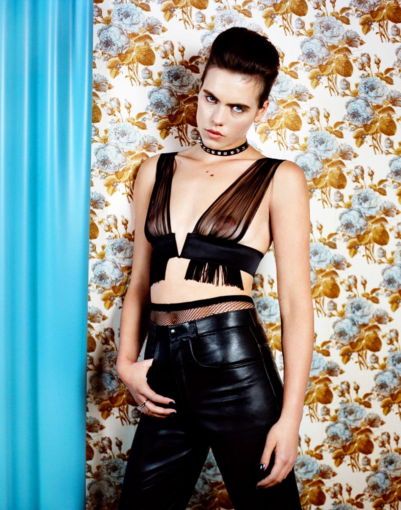 corinna8 Corinna Ingenleuf Dons Rebellious Style for Mark Keans Sleek Shoot