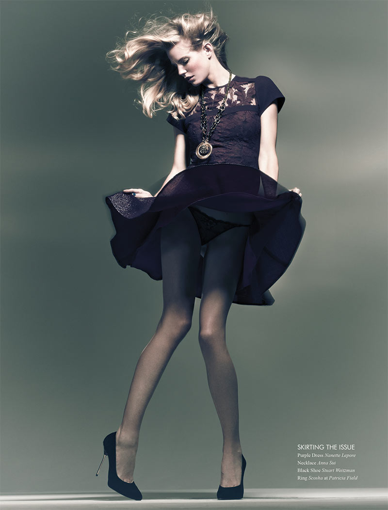 Ragnhild Jevne by Paul de Luna for Fashion Gone Rogue Print