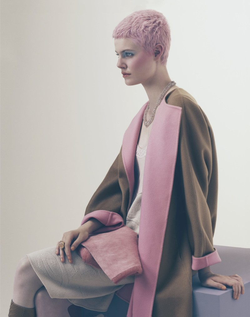 ehren dorsey3 Ehren Dorsey is Pretty in Pastel for How to Spend It, Lensed by Andrew Yee