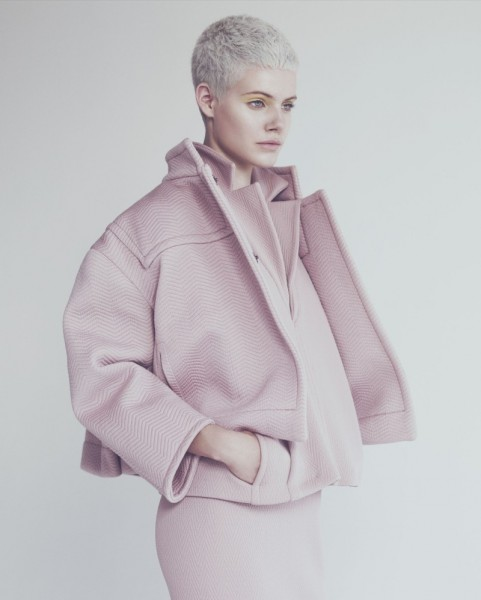 Ehren Dorsey is Pretty in Pastel for How to Spend It, Lensed by Andrew Yee