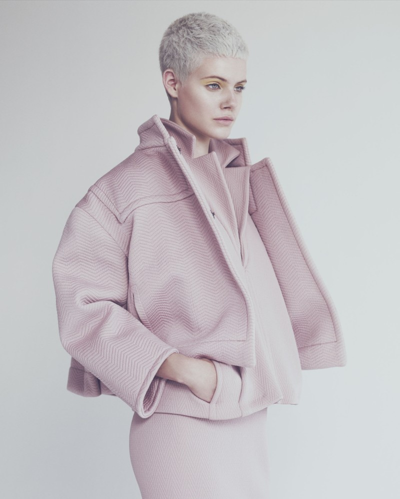ehren dorsey7 Ehren Dorsey is Pretty in Pastel for How to Spend It, Lensed by Andrew Yee