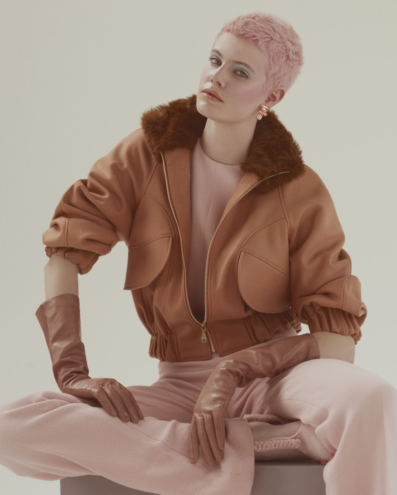 ehren dorsey8 Ehren Dorsey is Pretty in Pastel for How to Spend It, Lensed by Andrew Yee