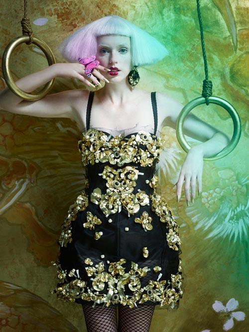 Neil Mota Lenses Eastern Fantasy for Elle Canada December 2012