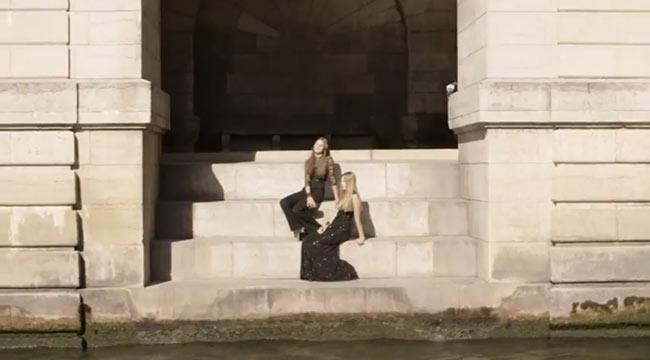 "Elie Saab's Resort 2013 Film ""Croisiere a Paris"" Explores the Seine River"