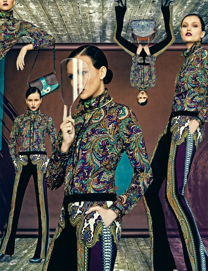 etro1 Nikolay Biryukov Lenses Etros Dynamic Fall for Interview Russia November 2012