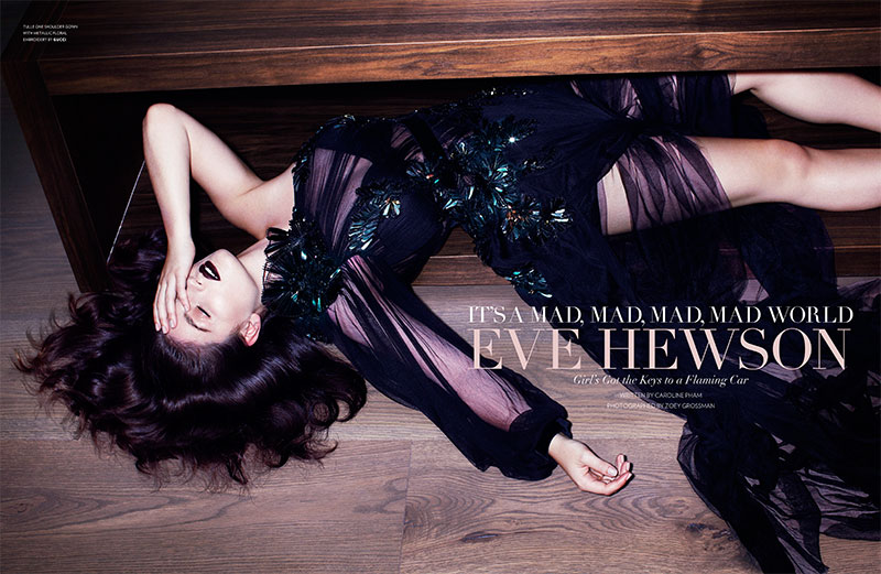 eve hewson1 Eve Hewson Stars in Flaunt Magazine November/December 2012