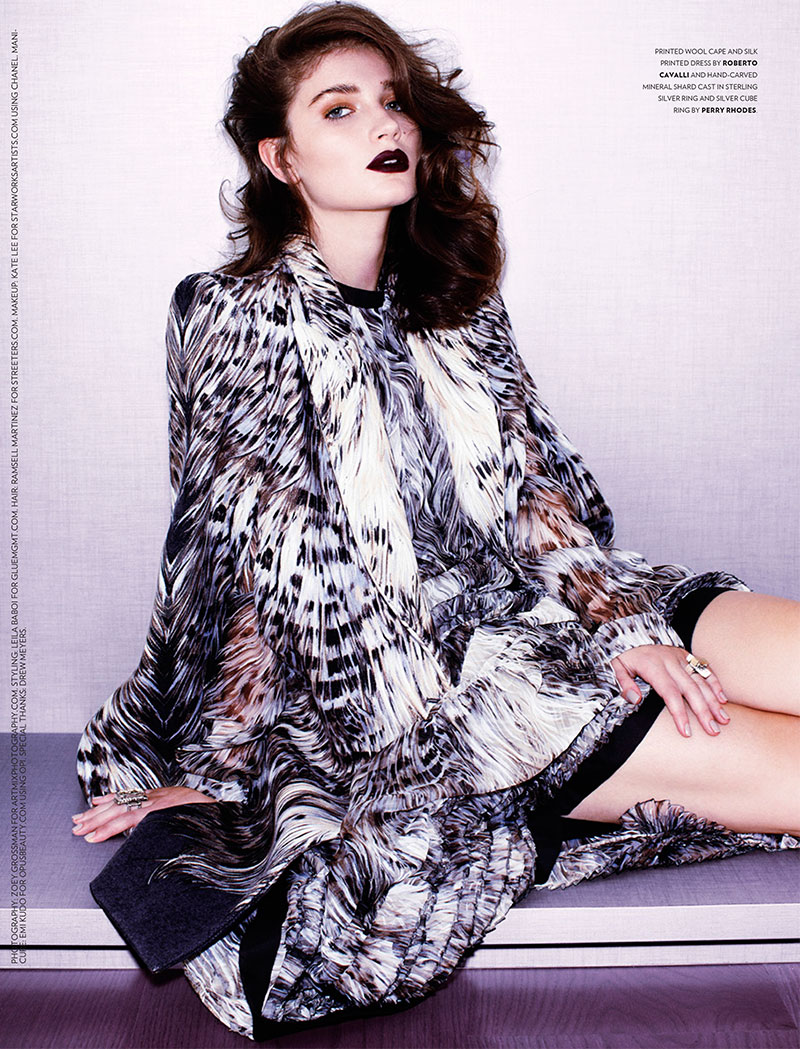 eve hewson3 Eve Hewson Stars in Flaunt Magazine November/December 2012
