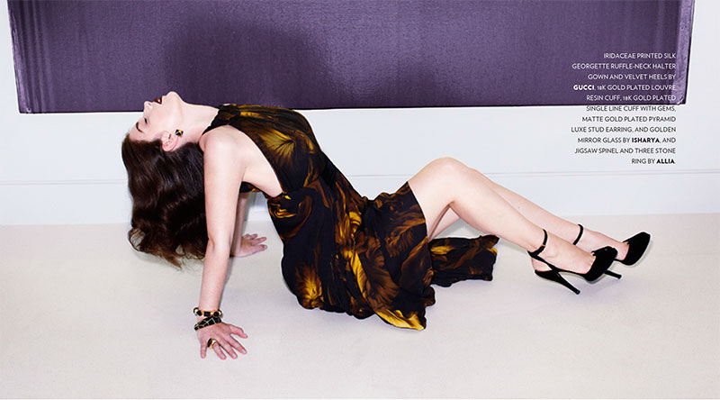 eve hewson4 Eve Hewson Stars in Flaunt Magazine November/December 2012