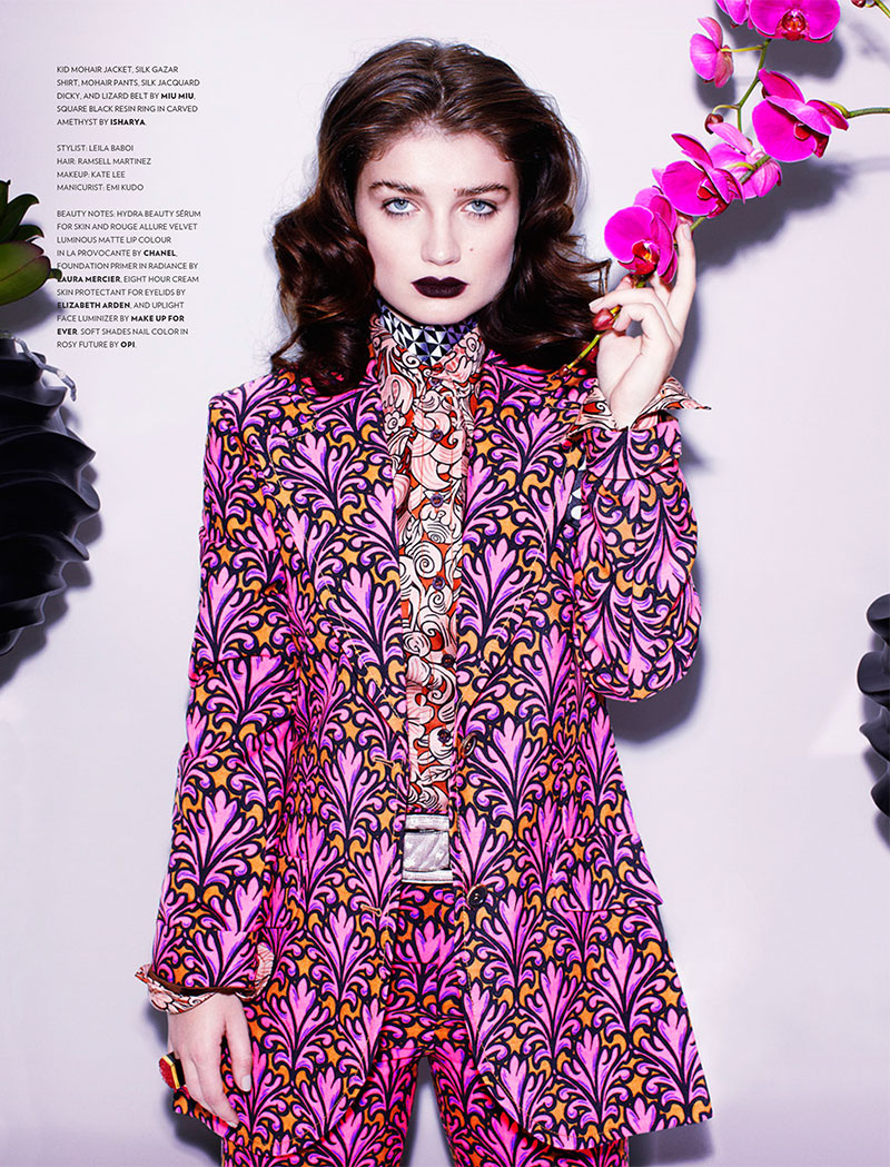 eve hewson5 Eve Hewson Stars in Flaunt Magazine November/December 2012