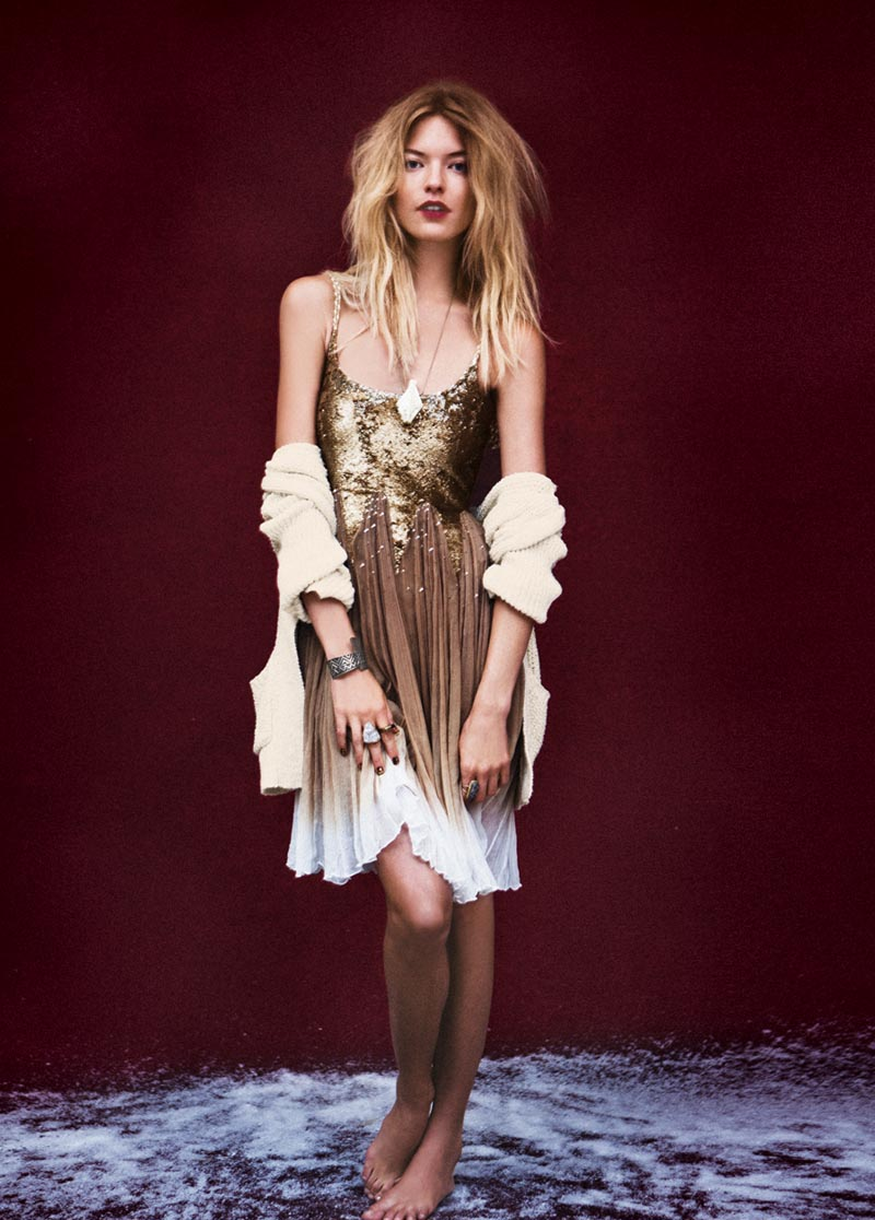 Anais Pouliot and Andreea Diaconu Star in Free People's Fairytale Inspired November Catalogue