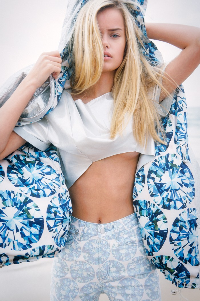Frida Aasen Models Nasty Gal's Holiday 2012 Collection
