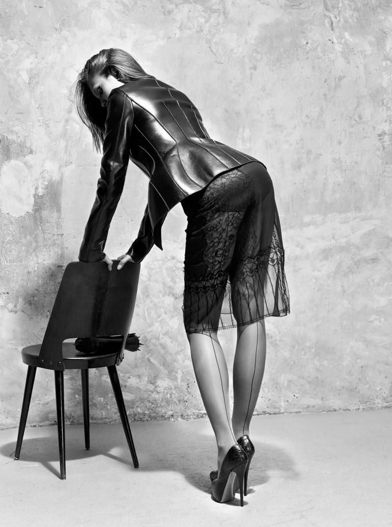 Schmidt & Gorges Capture Veneda Budny in Seductive Styles for Grazia Italy