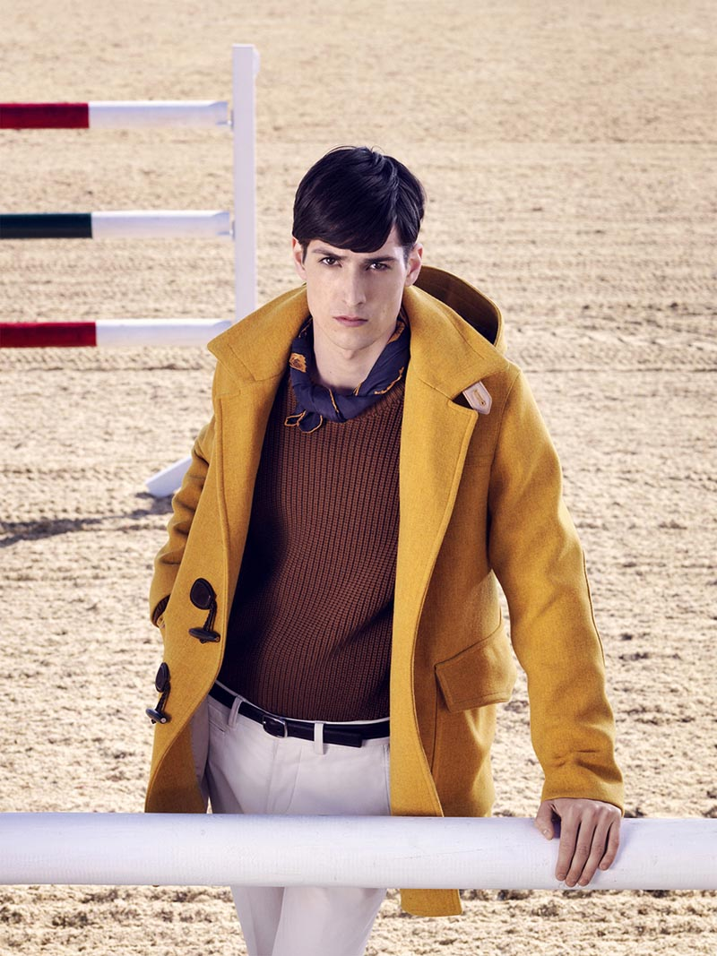 Nadja Bender and Maud Welzen Get Equestrian for Gucci Style by Benjamin Grillon