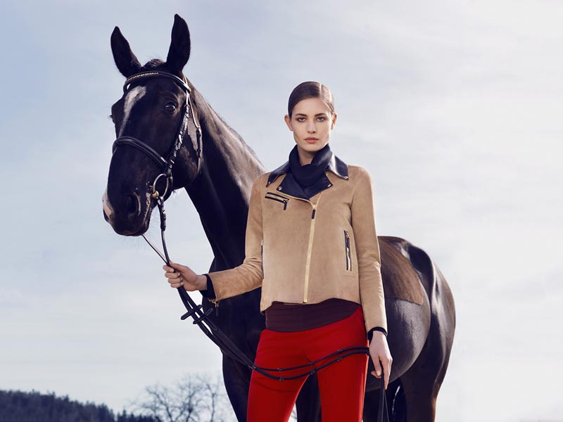 gucci4 Nadja Bender and Maud Welzen Get Equestrian for Gucci Style by Benjamin Grillon