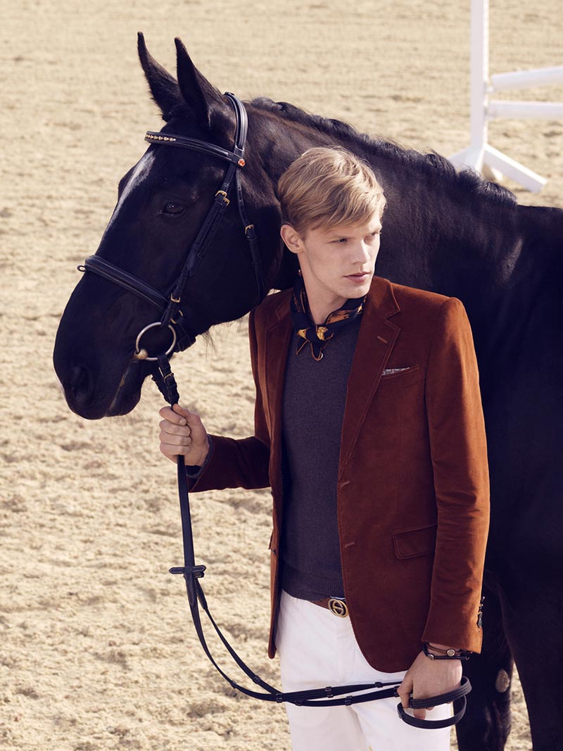 gucci8 Nadja Bender and Maud Welzen Get Equestrian for Gucci Style by Benjamin Grillon
