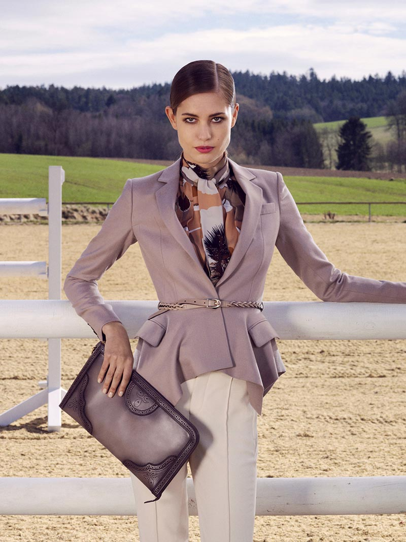 gucci9 Nadja Bender and Maud Welzen Get Equestrian for Gucci Style by Benjamin Grillon