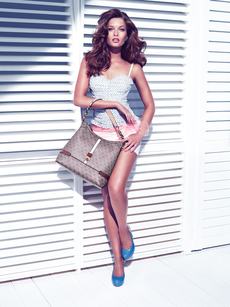 guess holiday17 Sandrah Hellberg is Pin up Glam for the Guess Accessories Holiday 2012 Campaign by Claudia & Ralf Pulmanns