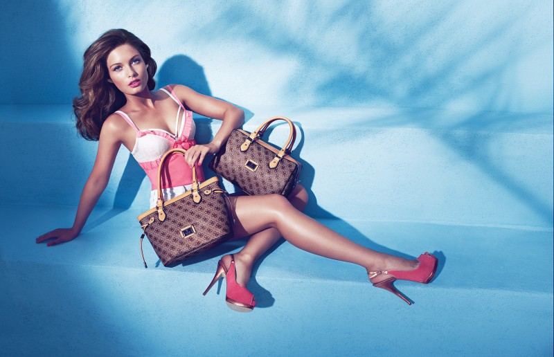 guess holiday19 Sandrah Hellberg is Pin up Glam for the Guess Accessories Holiday 2012 Campaign by Claudia & Ralf Pulmanns
