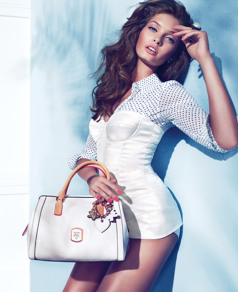 guess holiday3 Sandrah Hellberg is Pin up Glam for the Guess Accessories Holiday 2012 Campaign by Claudia & Ralf Pulmanns