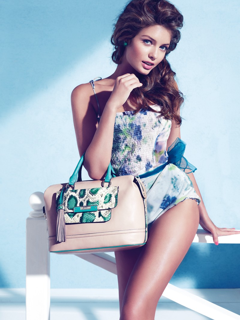 guess holiday5 Sandrah Hellberg is Pin up Glam for the Guess Accessories Holiday 2012 Campaign by Claudia & Ralf Pulmanns