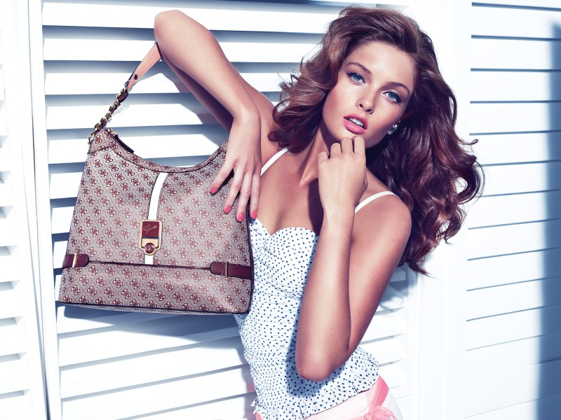 guess holiday9 Sandrah Hellberg is Pin up Glam for the Guess Accessories Holiday 2012 Campaign by Claudia & Ralf Pulmanns