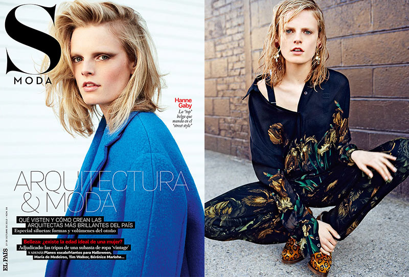 hanne gaby odiele Hanne Gaby Odiele Styles and Stars in S Modas October 2012 Cover Story