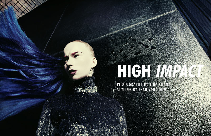 high Sam Ypma and Kendall Graham by Tina Chang in High Impact for Fashion Gone Rogue