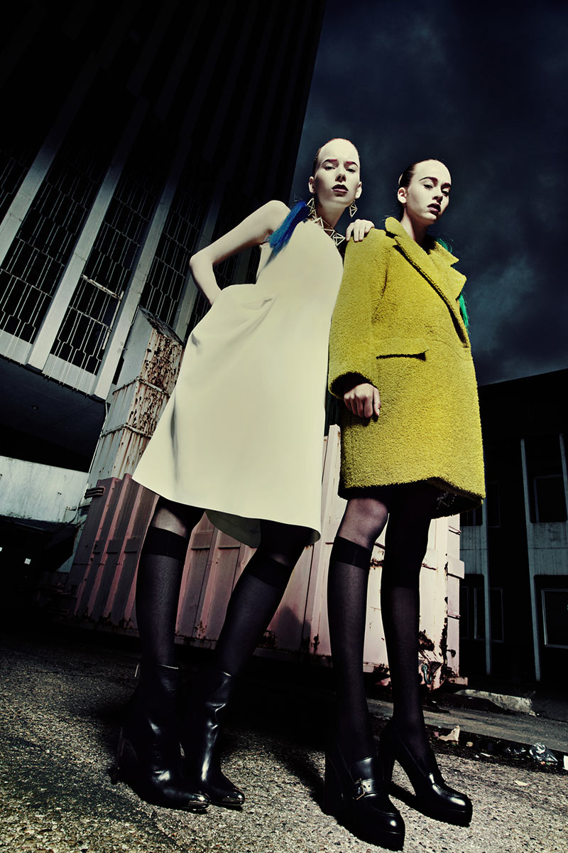 high3 Sam Ypma and Kendall Graham by Tina Chang in High Impact for Fashion Gone Rogue