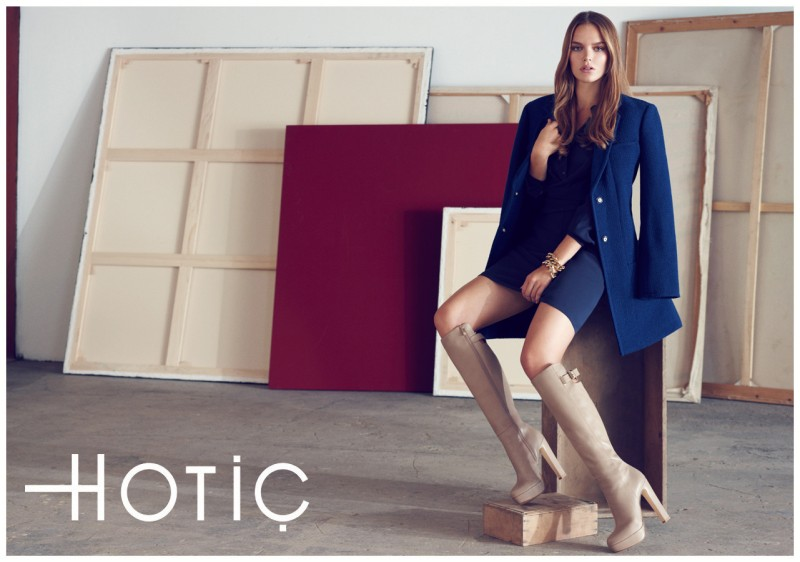 hotic1 Zosia Nowak Stars in Hotiçs Fall 2012 Campaign by Emre Guven