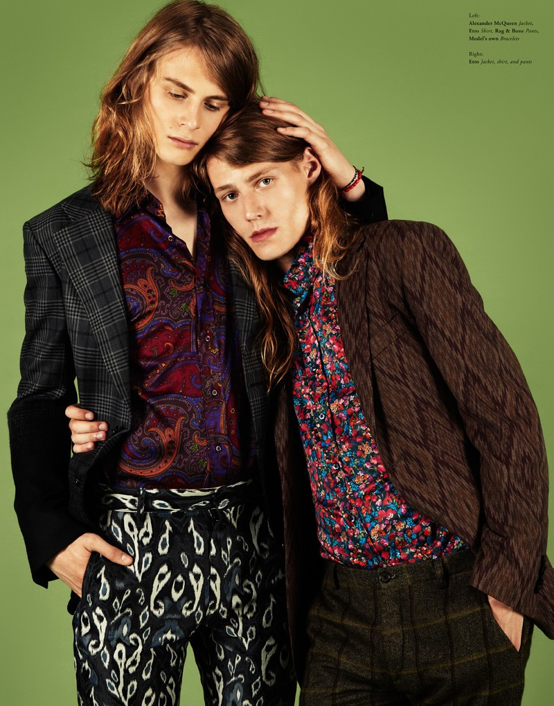 jason kim3 Jason Kim Captures Retro Couple Style for Bullett Fall 2012