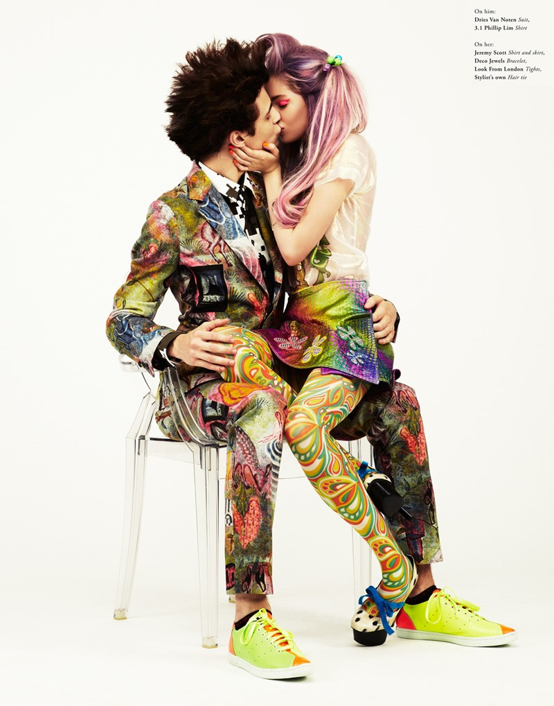 Jason Kim Captures Retro Couple Style for Bullett Fall 2012