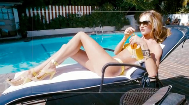 "Candice Swanepoel is ""California Dreaming"" for Juicy Couture's Holiday Film by Terry Richardson"