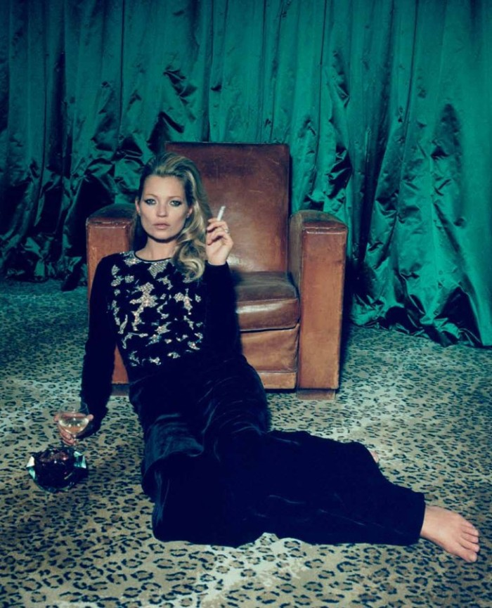 kate moss11 Kate Moss Poses for Venetia Scott in Centrefolds F/W 2012 Cover Shoot