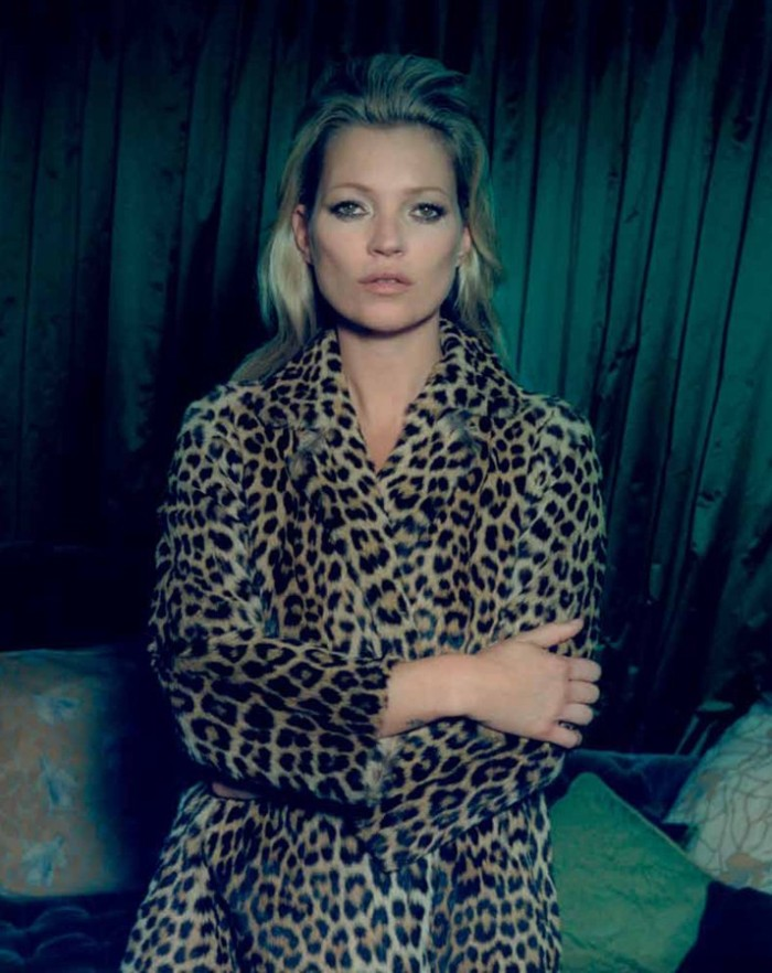 kate moss3 Kate Moss Poses for Venetia Scott in Centrefolds F/W 2012 Cover Shoot
